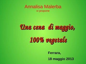 Annalisa Malerba - Passato tra le mani