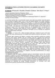 NECROBIOSI LIPOIDICA AD ESORDIO PRECOCE IN UN ...