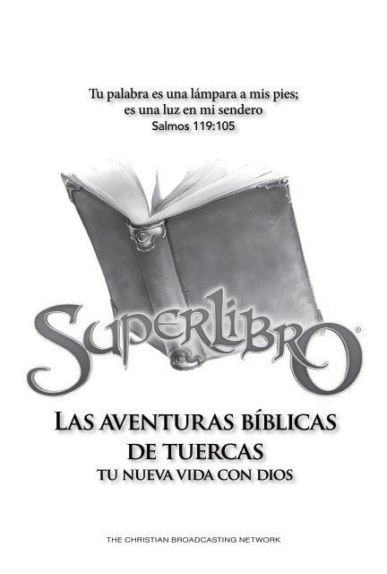 Tu Con De Tuercas Dios Bíblicas Nueva Las Aventuras Vida Superbook b6gYf7yv
