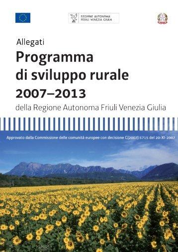 scarica gli allegati - Regione Autonoma Friuli Venezia Giulia