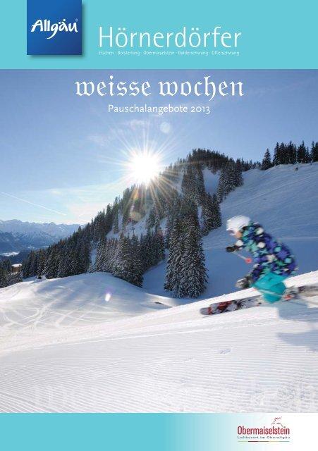 Weisse Wochen 2013 - Hörnerdörfer