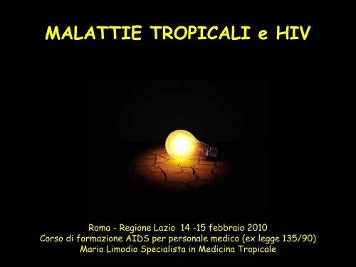 Malattie Tropicali e HIV - Agenzia di Sanità Pubblica della Regione ...