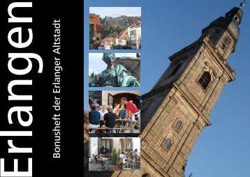 Erlangen Bonusheft der Erlanger Altstadt