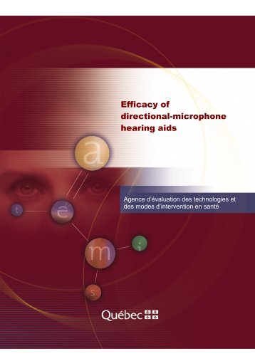 Efficacy of directional-microphone hearing aids - Internal System Error