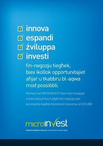 innova espandi Ωviluppa investi - Malta Enterprise