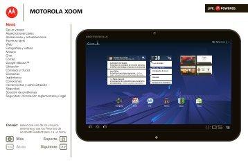 Motorola Xoom Guia de Usuario - Claro