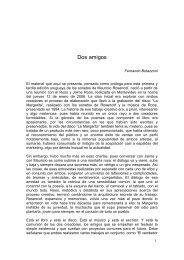 Dos amigos - Fernando Butazzoni