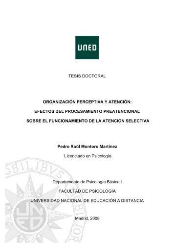 tesis doctoral - e-Spacio - Uned