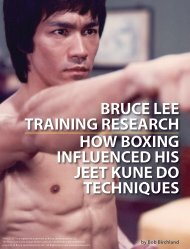 bruce lee training research how boxing influenced his - Danny Lane