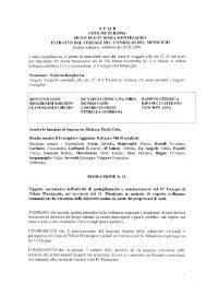 COMUNE DI ROMA MUNICIPIO 1V ROMA MONTESACRO ...
