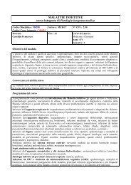 Malattie Infettive.pdf - Scuola di Medicina