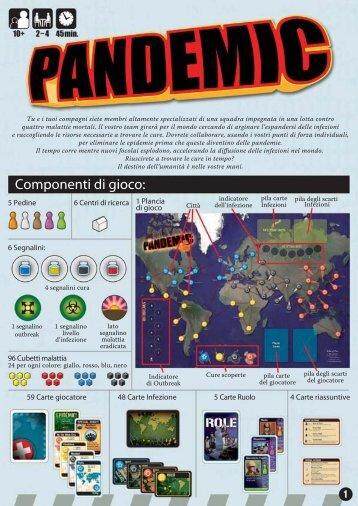 Pandemic: regolamento in italiano - La Tana dei Goblin