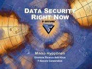 Data Security. Now. - Symbolic