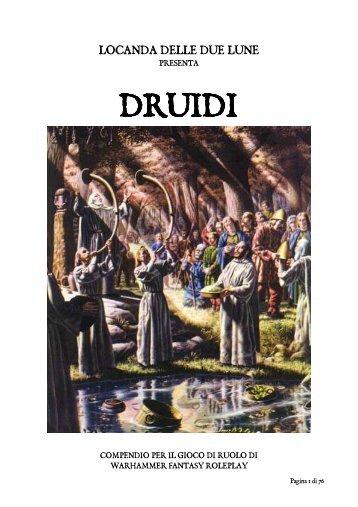 pdf scarica druidi compendio (5,40 mb) - La Locanda delle due Lune