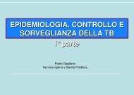 (Microsoft PowerPoint - versione definitiva epidemiologia tb Dr ...