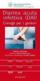 Diarrea acuta infettiva (DAI) - Azienda USL di Reggio Emilia