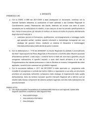 IL DIRIGENTE PREMESSO CHE a. Con la DGRC n.1688 del 26/11 ...