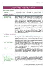 Modello per la Relazione Scientifica Annuale - Ospedale Pediatrico ...