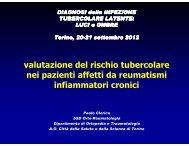 P. Clerico - Valutazione del rischio tubercolare... - SiMLii