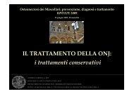 18 Il trattamento della ONJ: i trattamenti conservativi ... - Oralmax.it