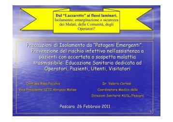 """Precauzioni di Isolamento da """"Patogeni Emergenti"""". Prevenzione ..."""