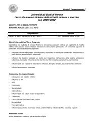 Malattie infettive applicate allo sport_Azzini
