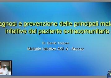 Diagnosi e prevenzione delle principali malattie infettive del - Centro ...