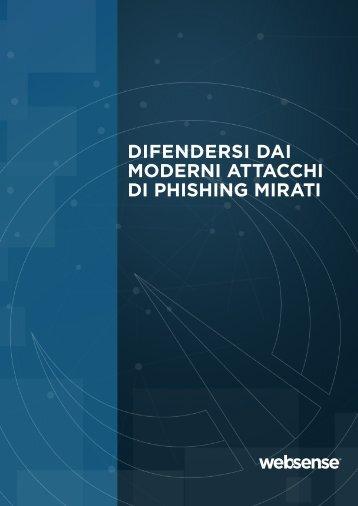 difendersi dai moderni attacchi di phishing mirati - Websense