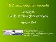 TBC: patologia riemergente