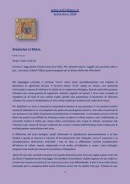 www.amicidigesu.it Settembre 2009 - Amici di Gesù