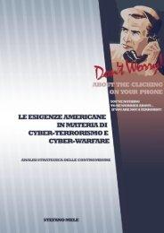 Le esigenze americane in materia di cyber ... - Stefano Mele