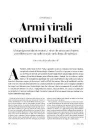 Armi virali - Università degli Studi di Roma Tor Vergata