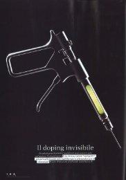 Il Doping invisibile è genetico - ICGEB