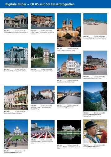Digitale Bilder – CD 05 mit 50 Reisefotografien - bei Kessler Medien