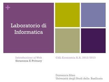 Sileo-LI01-04-IntroduzioneAlWeb-SicurezzaEPrivacy