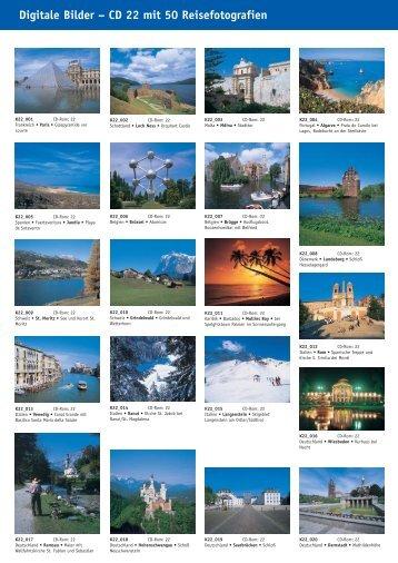 Digitale Bilder – CD 22 mit  50 Reisefotografien - bei Kessler Medien