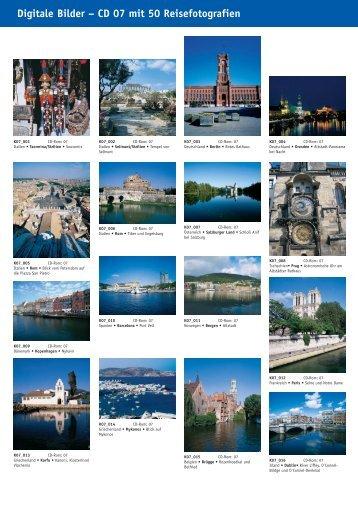Digitale Bilder – CD 07 mit 50 Reisefotografien - bei Kessler Medien