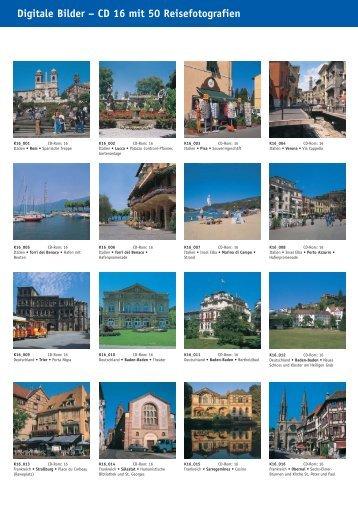Digitale Bilder – CD 16 mit 50 Reisefotografien - bei Kessler Medien