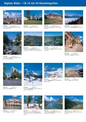 Digitale Bilder – CD 19 mit 50 Reisefotografien - bei Kessler Medien