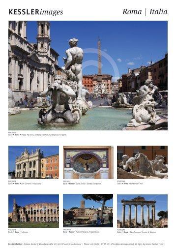 KESSLERimages Roma | Italia - bei Kessler Medien