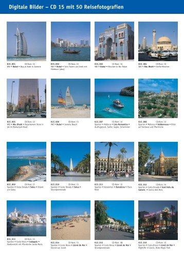 Digitale Bilder – CD 15 mit 50 Reisefotografien - bei Kessler Medien