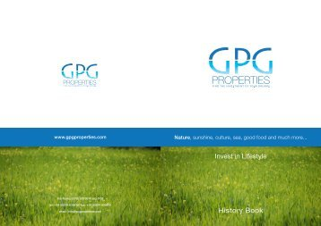History Book - GPG Properties