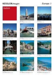 KESSLERimages Europa 1 Italien - bei Kessler Medien