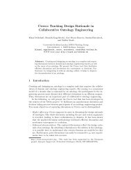 Tracking Design Rationale in Collaborative Ontology Engineering