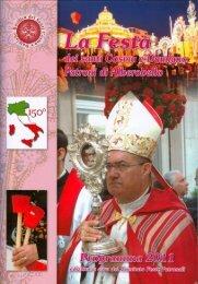 Programma della Festa dei Santi Medici Cosma e - Alberobello ...