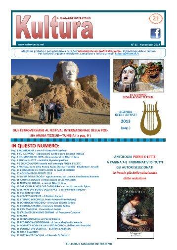 Newsletter 21 - Estro-Verso