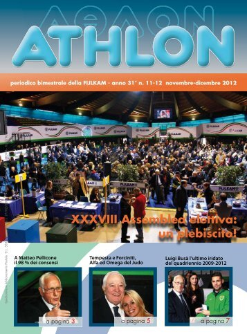Athlon n. 11/12 2012 - Fijlkam