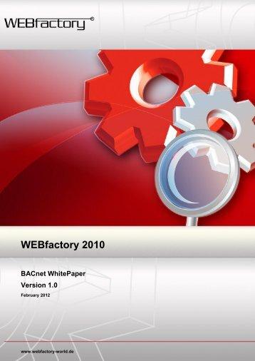 WEBfactory 2010 - WEBfactory GmbH