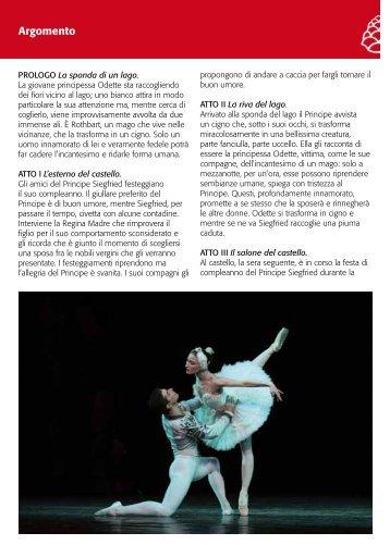 Argomento - Teatro Alighieri