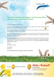 Brief Ostern adler Apo